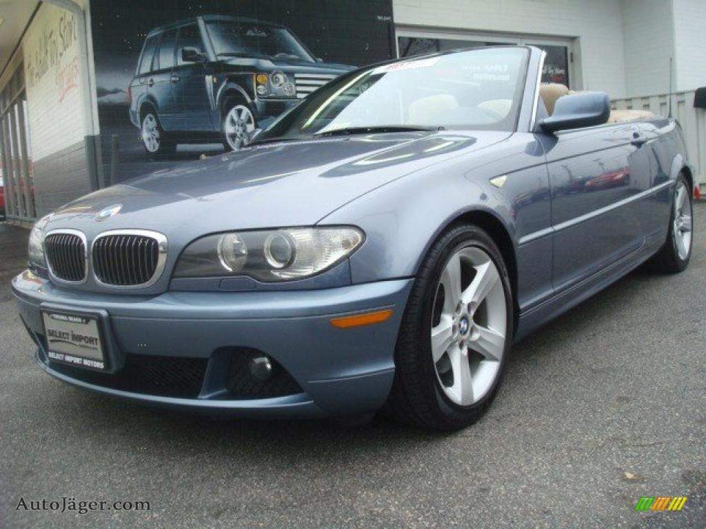 2004 bmw 3 series 325i convertible in steel blue metallic. Black Bedroom Furniture Sets. Home Design Ideas