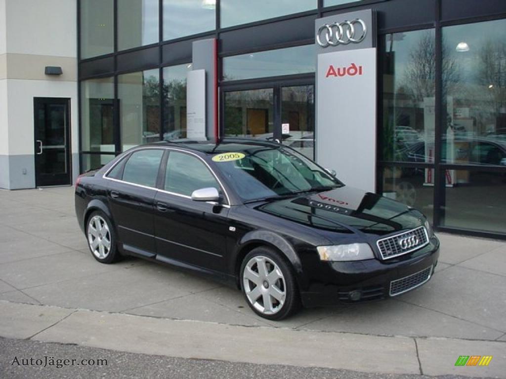 2005 Audi S4 4 2 Quattro Sedan In Brilliant Black 037771