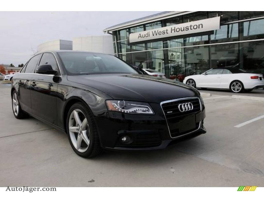 2009 audi a4 3 2 quattro sedan in brilliant black 017328. Black Bedroom Furniture Sets. Home Design Ideas