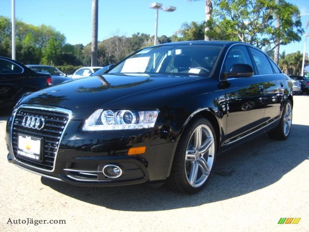 2011 audi a6 3 0t quattro sedan in brilliant black 051315 auto j ger german cars for sale. Black Bedroom Furniture Sets. Home Design Ideas