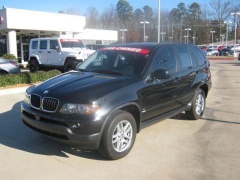 Bmw X5 2006 Black. 2006 BMW X5 3.0i