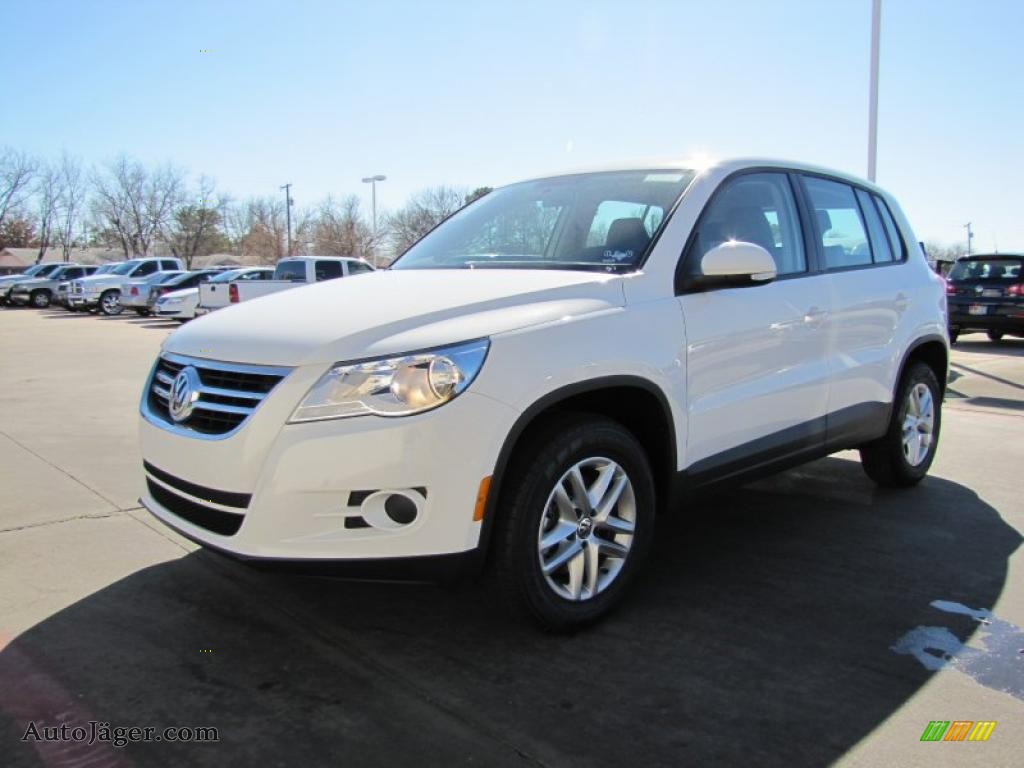 2011 volkswagen tiguan s in candy white 522478 auto. Black Bedroom Furniture Sets. Home Design Ideas