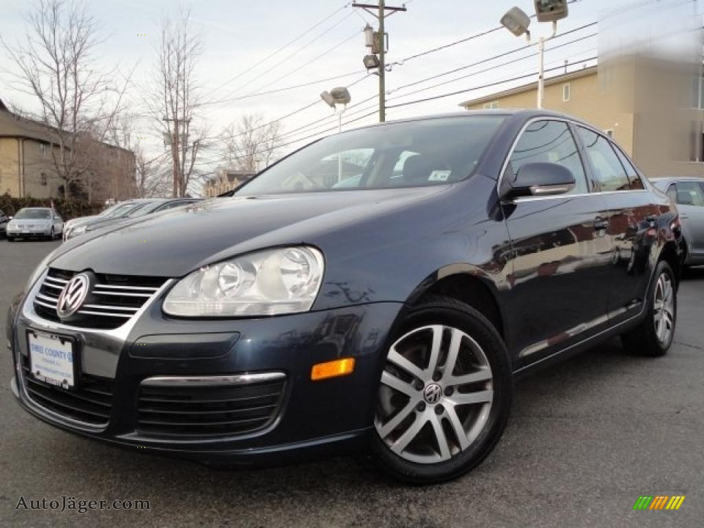 2006 volkswagen jetta tdi sedan in blue graphite metallic 717525 auto j ger german cars. Black Bedroom Furniture Sets. Home Design Ideas