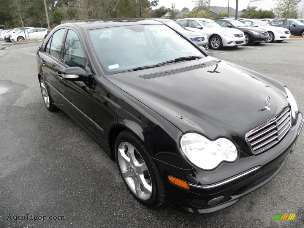 2007 mercedes benz c 230 sport in black 027267 auto for Simonson mercedes benz