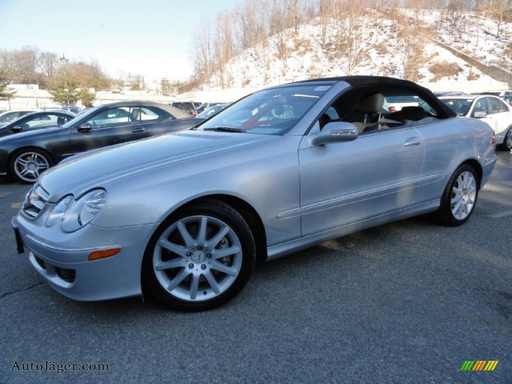 2007 mercedes benz clk 350 cabriolet in iridium silver for Mercedes benz clk350 for sale