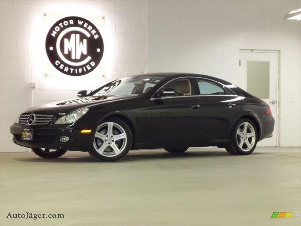 2006 mercedes benz cls 500 in black 018370 auto j ger for 2006 mercedes benz cls500 for sale