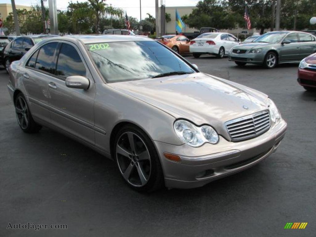 2002 mercedes benz c 240 sedan in desert silver metallic for Mercedes benz c 240