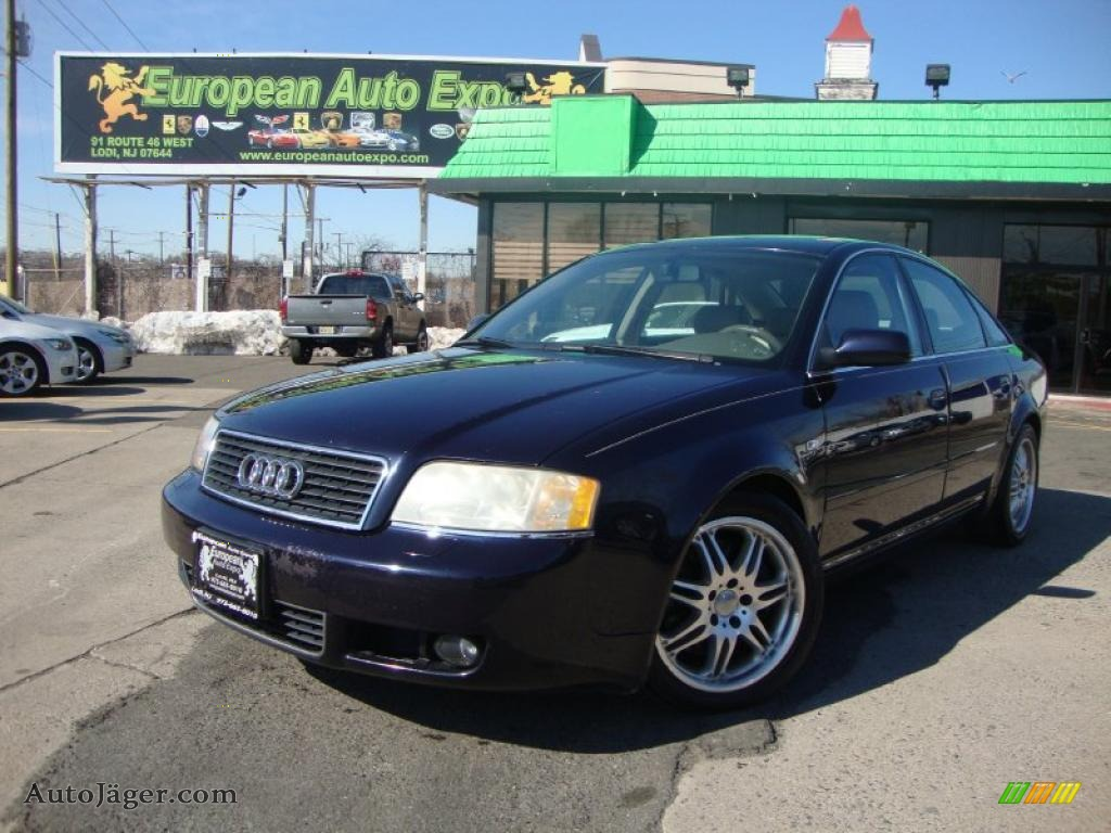 2003 audi a6 2 7t quattro sedan in ming blue pearl effect. Black Bedroom Furniture Sets. Home Design Ideas