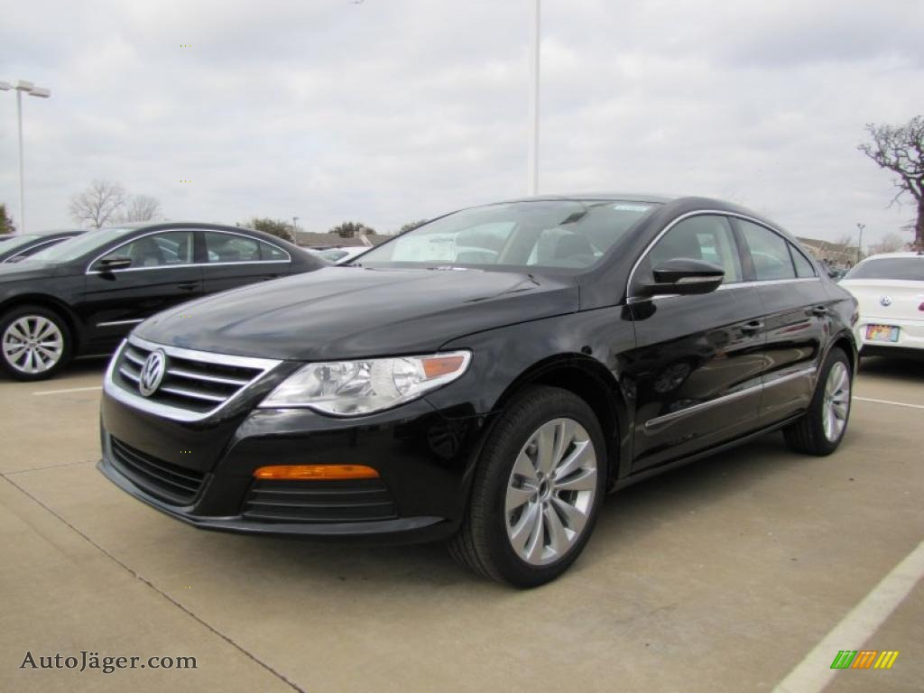 2012 volkswagen cc sport in deep black metallic 505713 auto j ger german cars for sale in. Black Bedroom Furniture Sets. Home Design Ideas