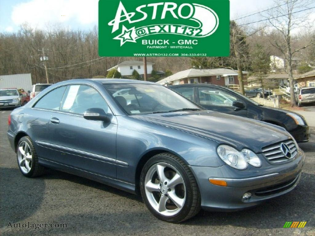 2004 mercedes benz clk 320 coupe in cadet blue metallic for 2004 mercedes benz clk 500