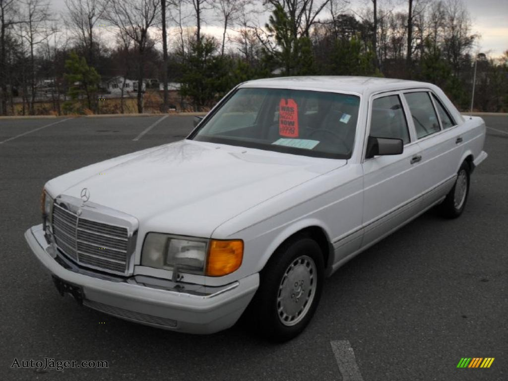 1991 mercedes benz s class 300 sel in arctic white for 1991 mercedes benz