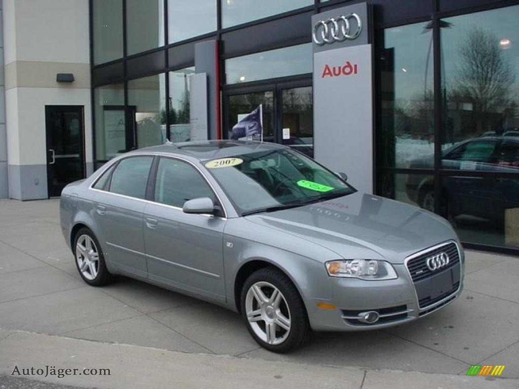 2007 audi a4 2.0t quattro sedan in quartz gray metallic - 252288