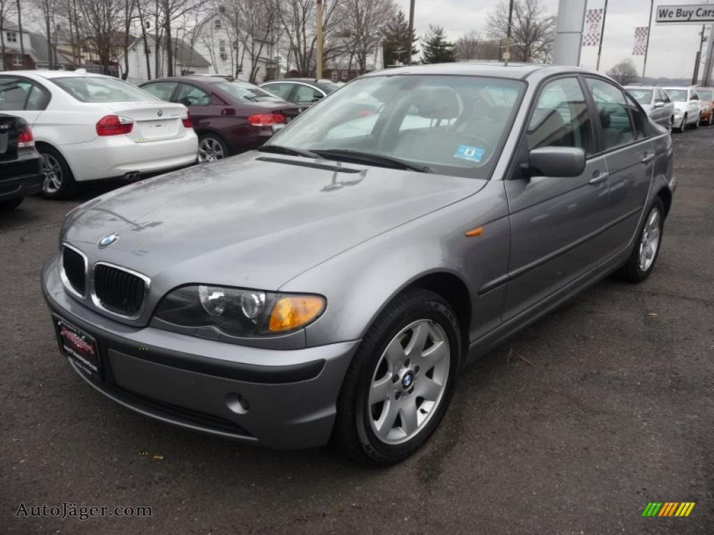 2004 Bmw 3 Series 325xi Sedan In Titanium Silver Metallic