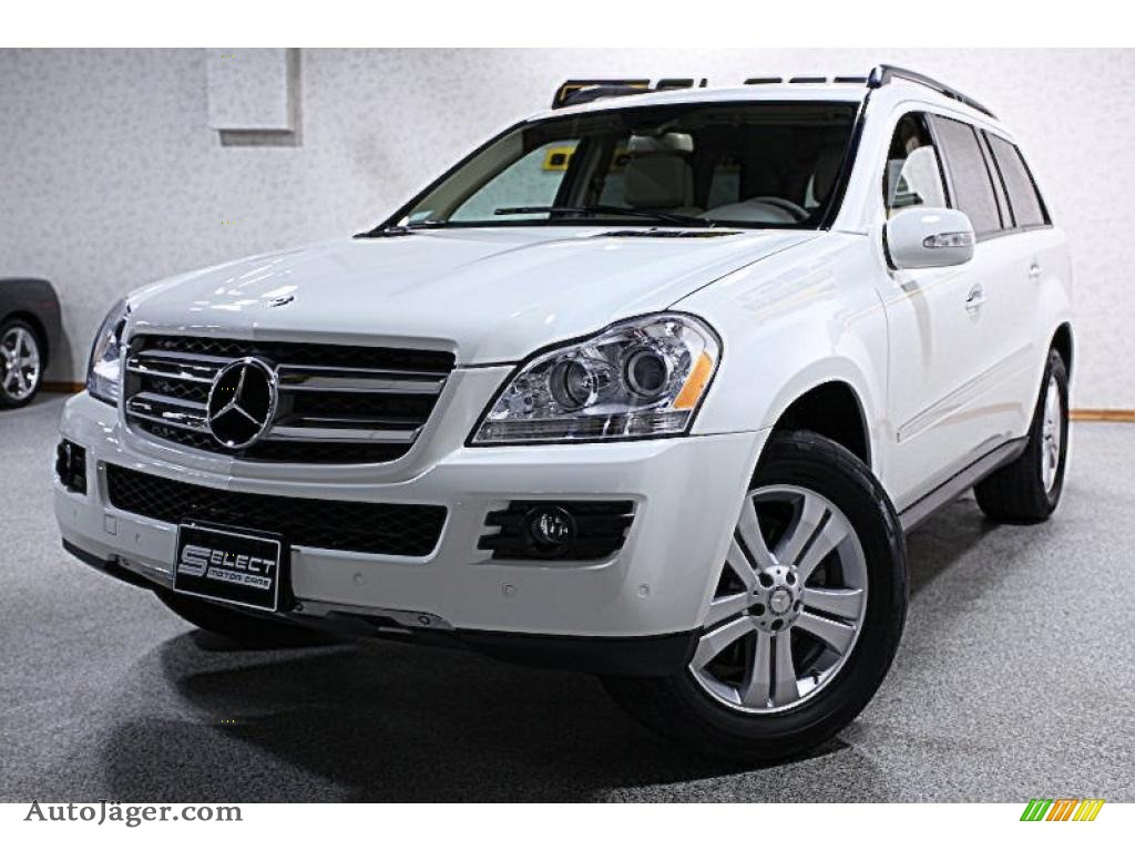 2008 mercedes benz gl 450 4matic in arctic white 396714 auto j ger german cars for sale in. Black Bedroom Furniture Sets. Home Design Ideas