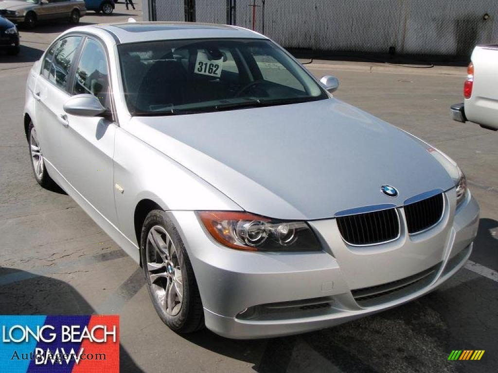 2008 Bmw 3 Series 328i Sedan In Titanium Silver Metallic