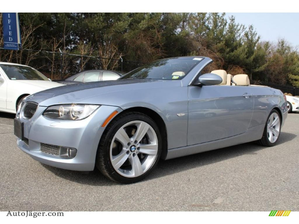 Blue Water Metallic Cream Beige Dakota Leather Bmw 3 Series 335i Convertible