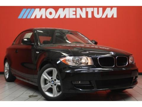 Bmw 128i Coupe Black. Bmw 128i Coupe Black