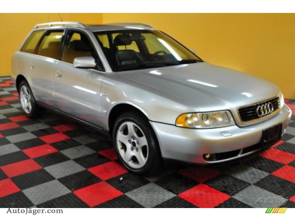 1999 audi a4 2 8 quattro avant in aluminum silver metallic. Black Bedroom Furniture Sets. Home Design Ideas