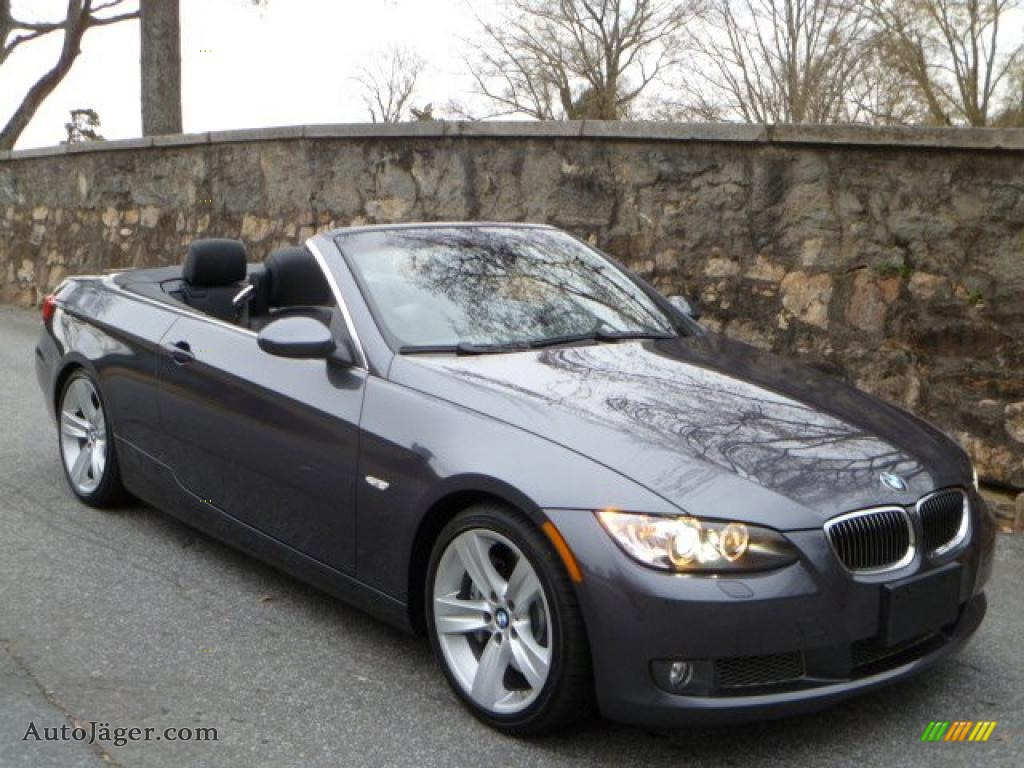 2007 bmw 3 series 335i convertible in sparkling graphite metallic x43070 auto j ger german. Black Bedroom Furniture Sets. Home Design Ideas