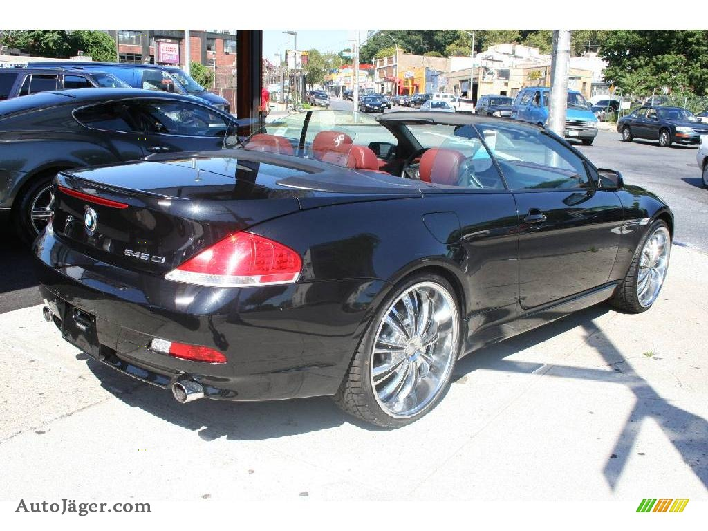 2004 bmw 6 series 645i convertible in jet black photo 5 321575 auto j ger german cars for. Black Bedroom Furniture Sets. Home Design Ideas