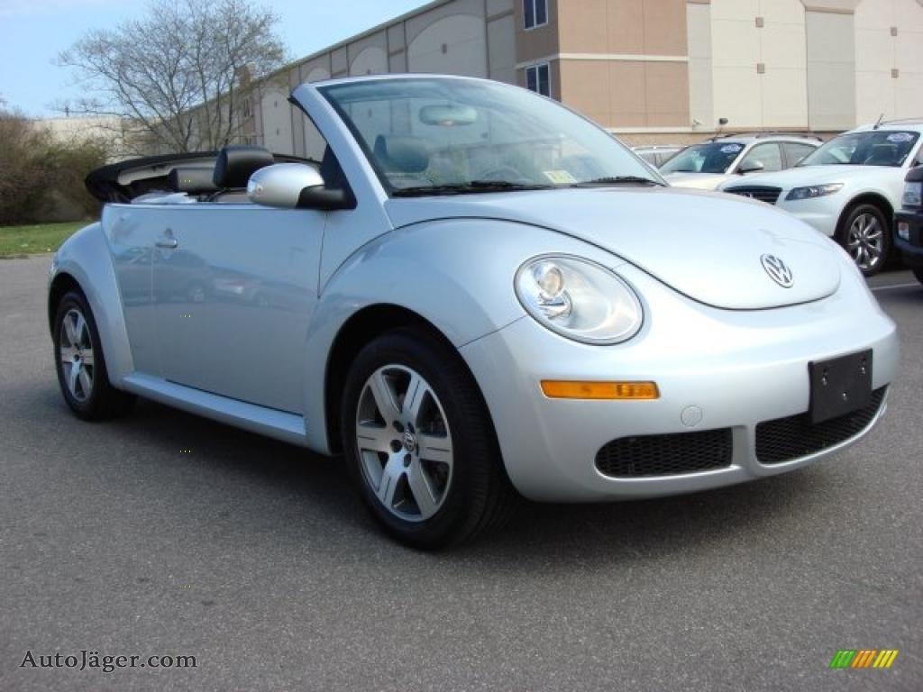 Charles Barker Mercedes >> 2007 Volkswagen New Beetle 2.5 Convertible in Reflex Silver - 420657 | Auto Jäger - German Cars ...