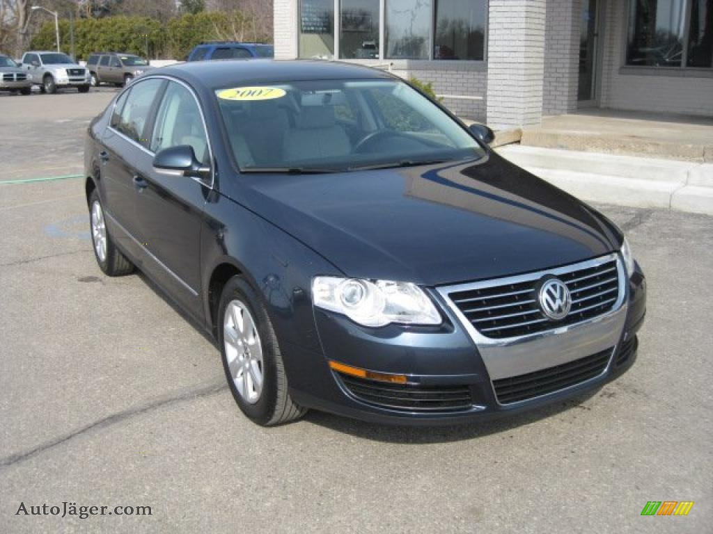 2007 volkswagen passat 2 0t sedan in shadow blue 107348 auto j ger german cars for sale in. Black Bedroom Furniture Sets. Home Design Ideas