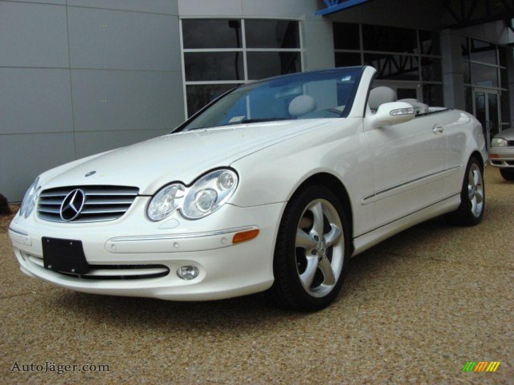 2005 mercedes benz clk 320 cabriolet in alabaster white for 2005 mercedes benz clk 320