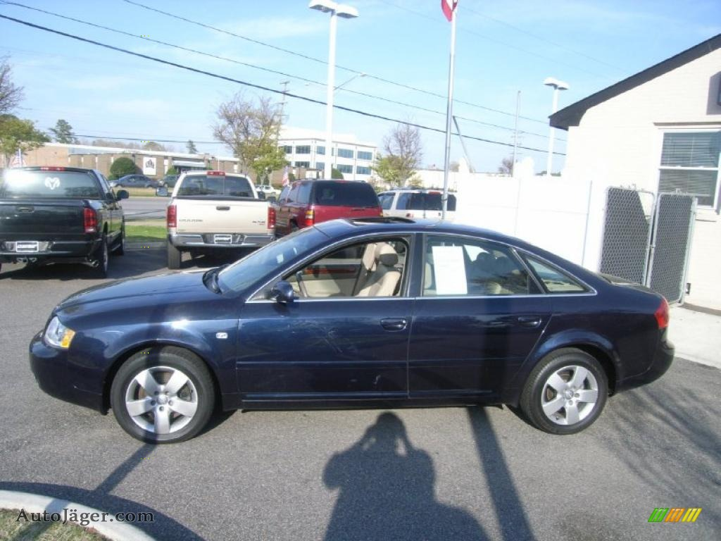 2003 audi a6 3 0 quattro sedan in ming blue pearl effect photo 2 098248 auto j ger german. Black Bedroom Furniture Sets. Home Design Ideas