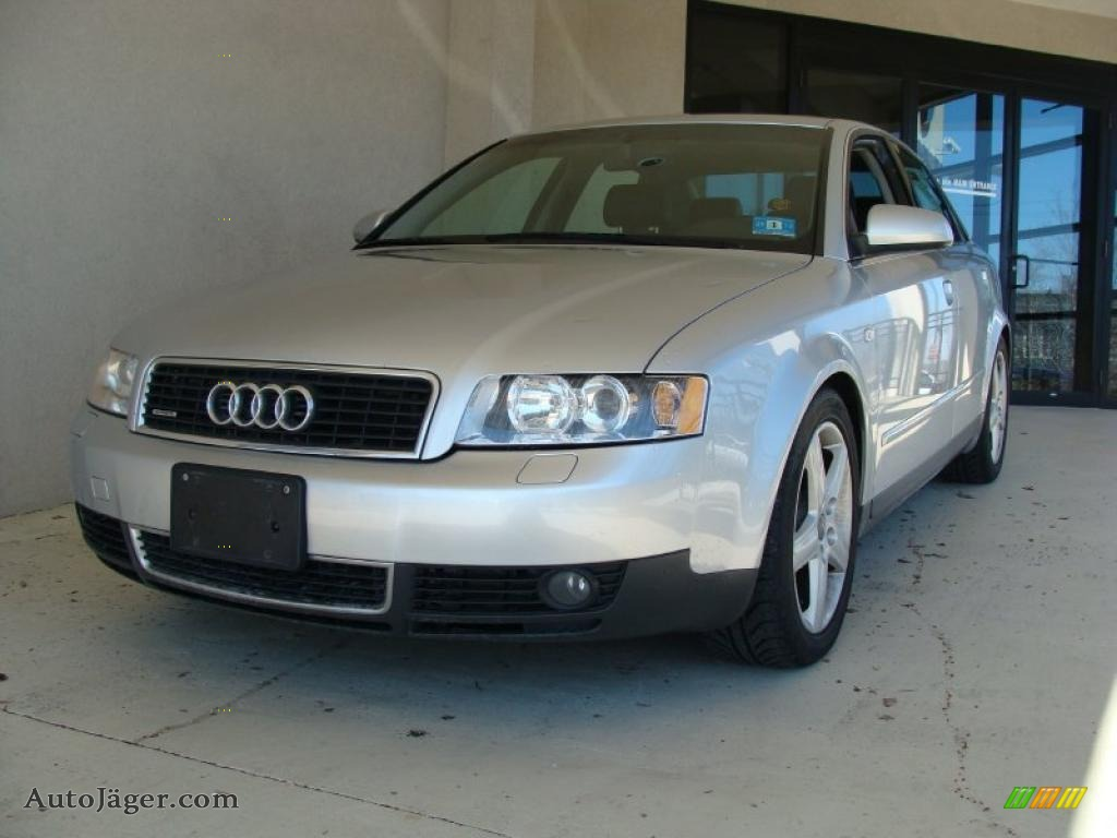 2002 audi a4 3 0 quattro sedan in light silver metallic. Black Bedroom Furniture Sets. Home Design Ideas