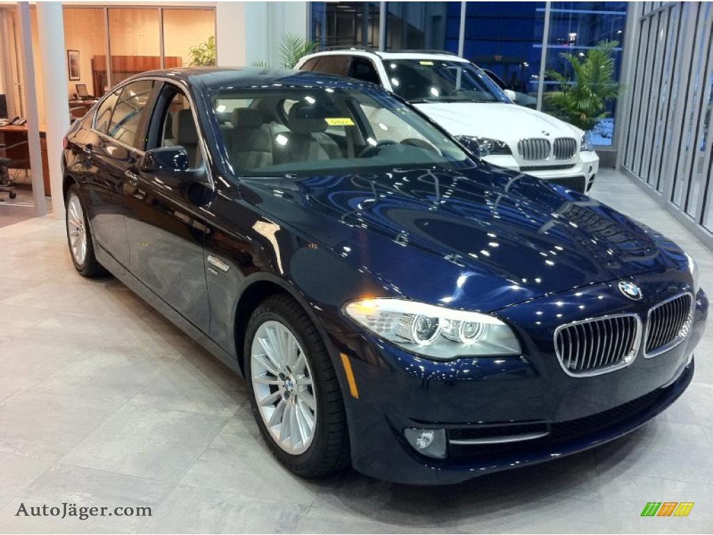 Bmw 535I Xdrive >> 2011 BMW 5 Series 535i xDrive Sedan in Imperial Blue Metallic - 874635 | Auto Jäger - German ...
