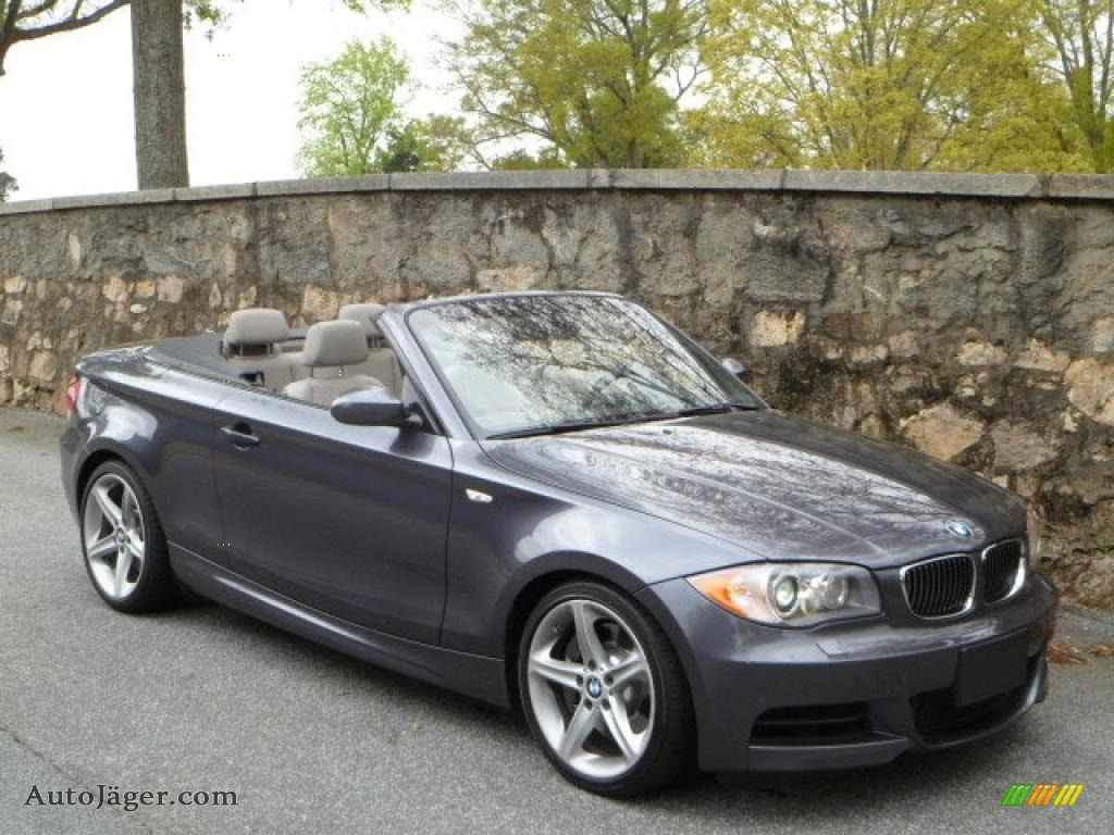 2008 BMW 1 Series 135i Convertible in Sparkling Graphite Metallic ...
