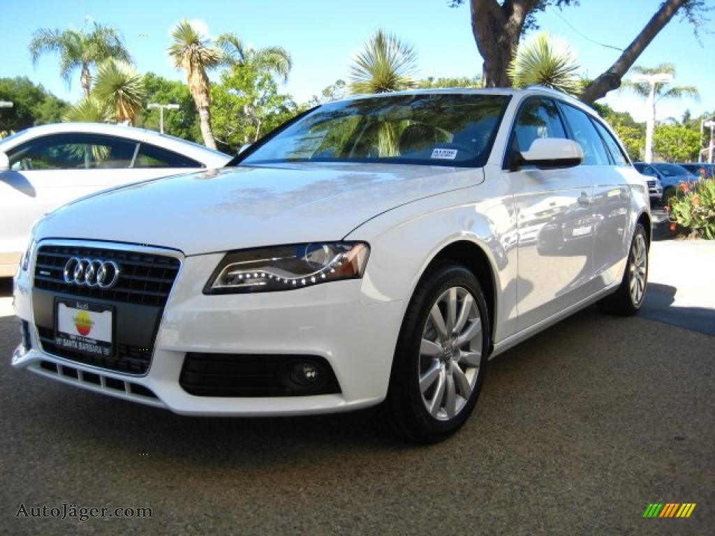 2011 audi a4 2 0t quattro avant in ibis white 122873 auto j ger german cars for sale in the us. Black Bedroom Furniture Sets. Home Design Ideas