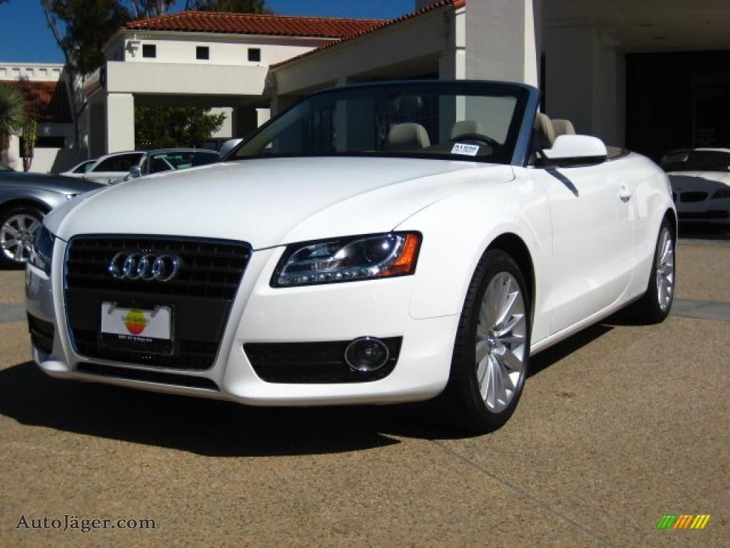 2011 audi a5 2 0t convertible in ibis white 010635 auto j ger german cars for sale in the us - White audi a5 coupe for sale ...