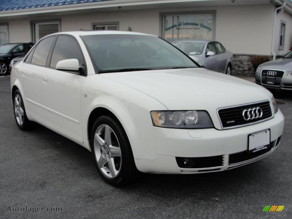2005 audi a4 1 8t quattro sedan in arctic white 011620. Black Bedroom Furniture Sets. Home Design Ideas