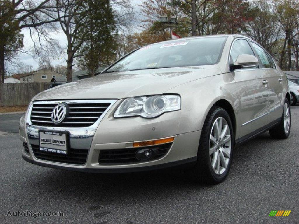 2007 volkswagen passat 3 6 sedan in wheat beige metallic 005538 auto j ger german cars for. Black Bedroom Furniture Sets. Home Design Ideas