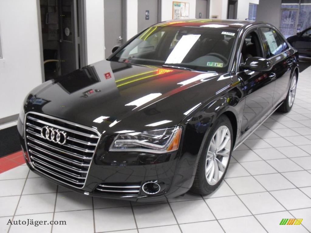 2011 Audi A8 L 4 2 Fsi Quattro In Havanna Black Metallic 019412 Auto J Ger German Cars For