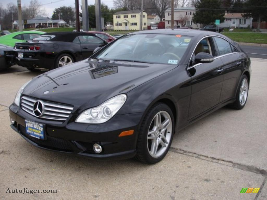 2006 mercedes benz cls 500 in black 064651 auto j ger for Mercedes benz cls sale