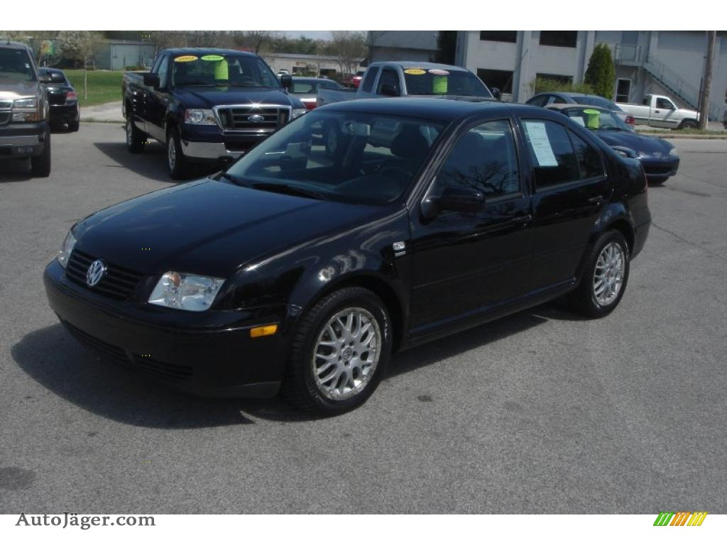2003 volkswagen jetta wolfsburg edition 1 8t sedan in black 167015 auto j ger german cars. Black Bedroom Furniture Sets. Home Design Ideas