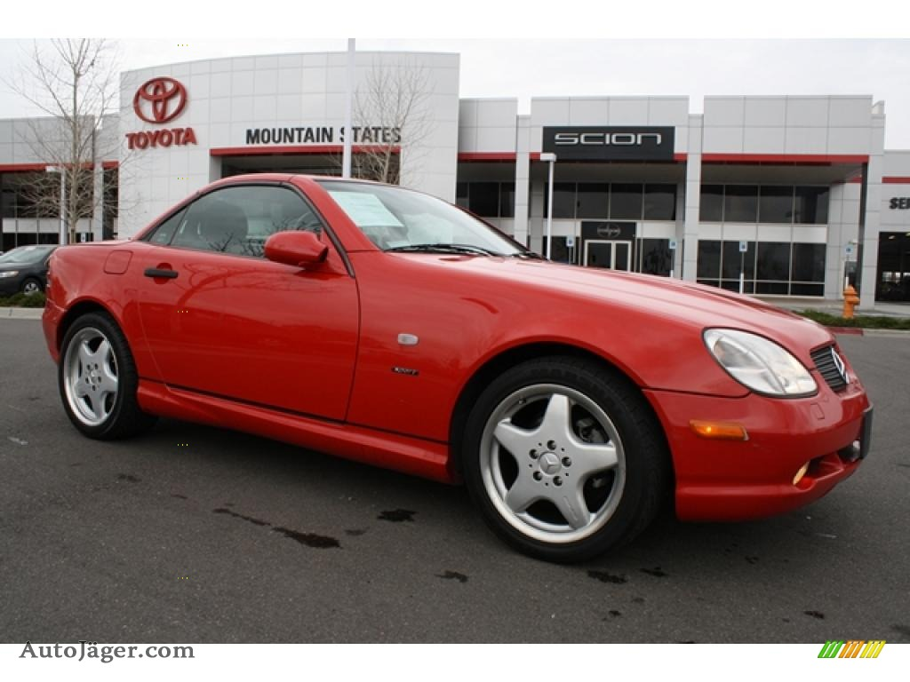 1999 mercedes benz slk 230 kompressor roadster in magma for Mercedes benz slk230 kompressor