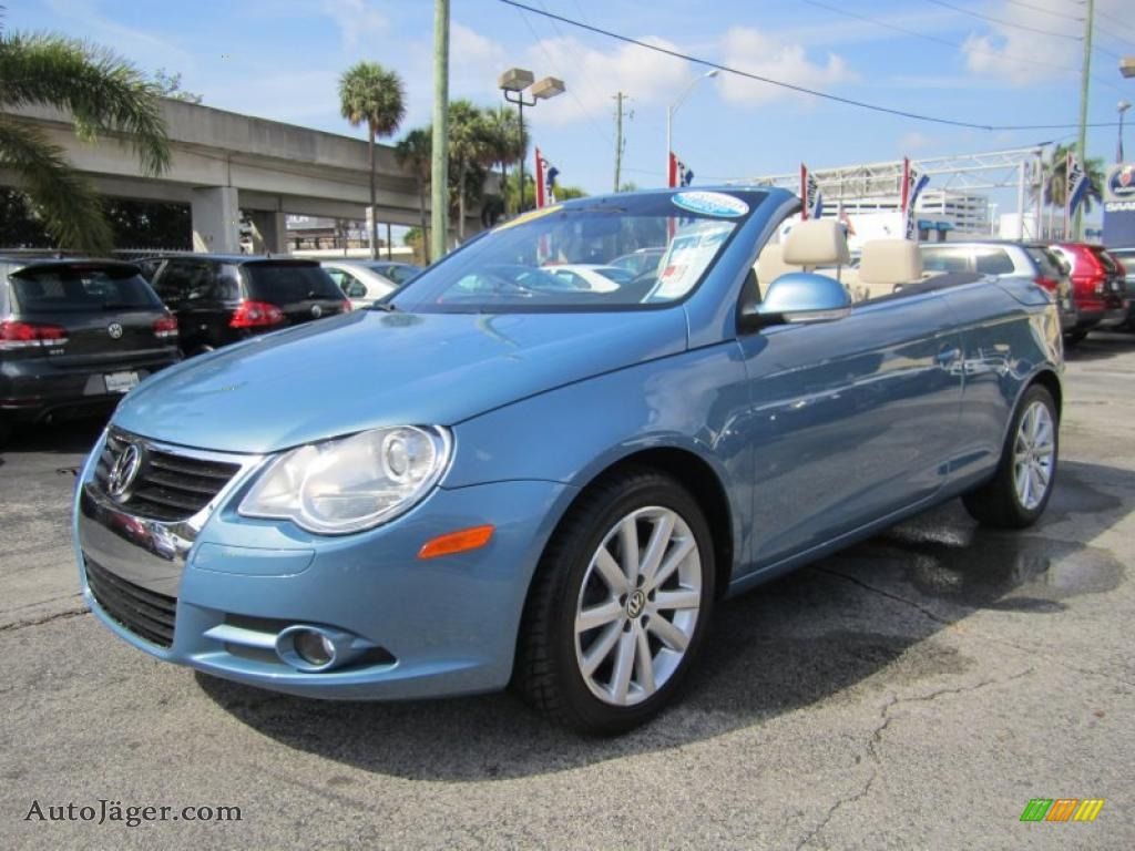 Lewis Auto Sales >> 2008 Volkswagen Eos 2.0T in Eismeer Blue Metallic - 034138 | Auto Jäger - German Cars for sale ...