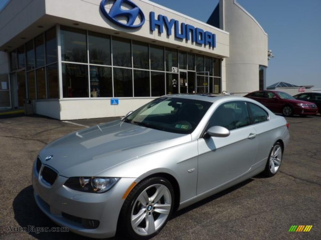 Titanium Silver Metallic Grey BMW 3 Series 335i Coupe