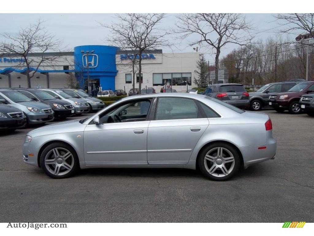 2005 Audi A4 2.0T quattro Sedan in Light Silver Metallic ...