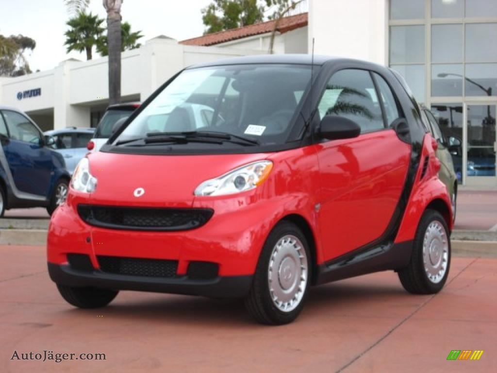 2011 smart fortwo pure coupe in rally red 468335 auto. Black Bedroom Furniture Sets. Home Design Ideas