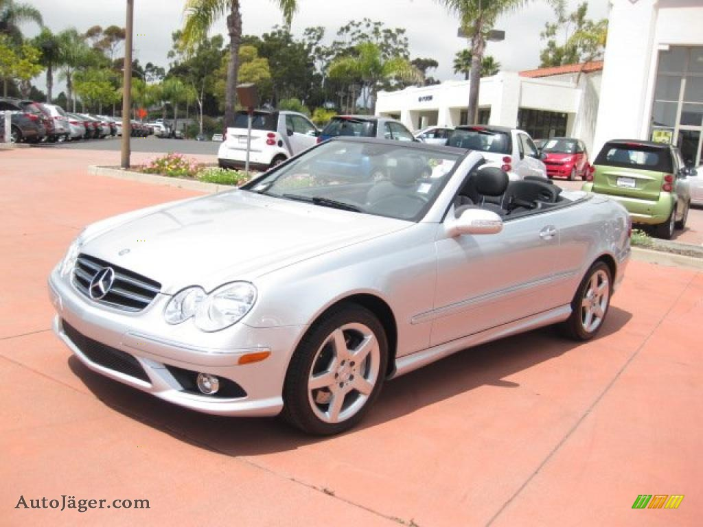 2007 mercedes benz clk 550 cabriolet in iridium silver for 2007 mercedes benz clk550
