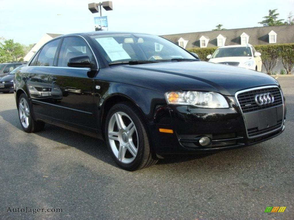 2007 audi a4 2 0t quattro sedan in brilliant black 088952 auto j ger german cars for sale. Black Bedroom Furniture Sets. Home Design Ideas