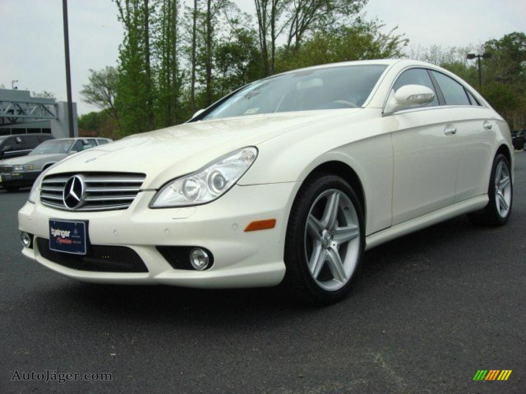 2008 mercedes benz cls 550 in arctic white 136330 auto for 2008 mercedes benz cls550