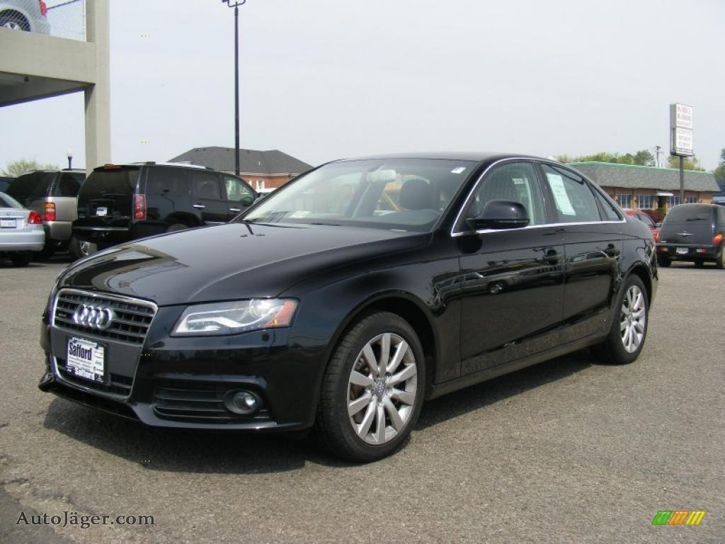 2009 Audi A4 2 0t Premium Quattro Sedan In Brilliant Black