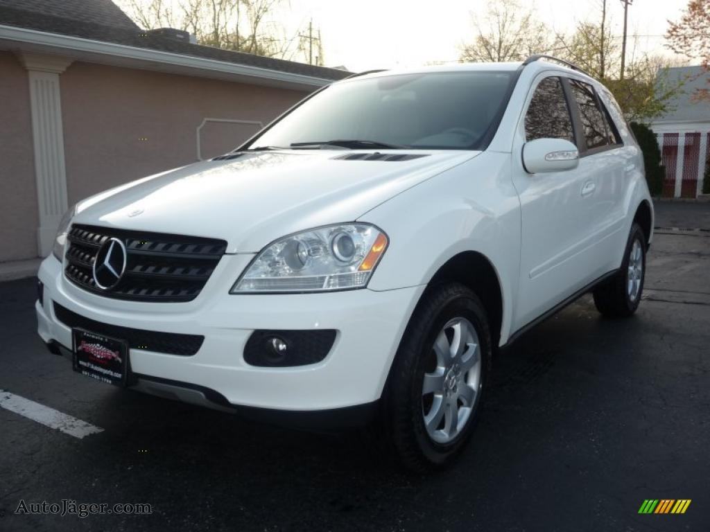 2006 mercedes benz ml 350 4matic in alabaster white photo for Mercedes benz ml 2006 for sale