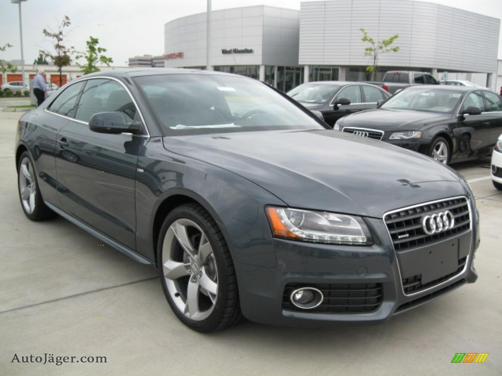 2011 Audi A5 2 0t Quattro Coupe In Meteor Grey Pearl