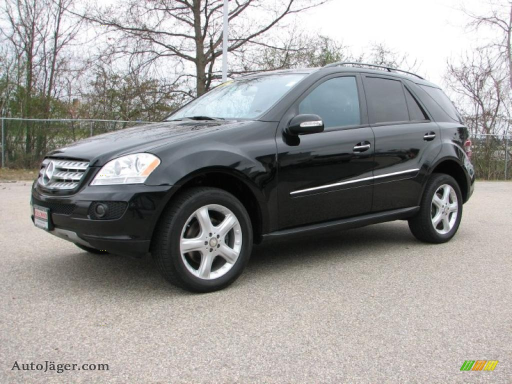 2008 mercedes benz ml 320 cdi 4matic in black 433452. Black Bedroom Furniture Sets. Home Design Ideas